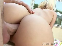 Jessie Rogers gets her tight ass stuffed with hard cock