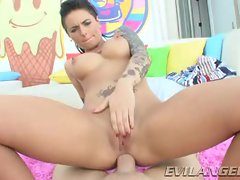 Christy Mack bounces her tight ass on this hard cock