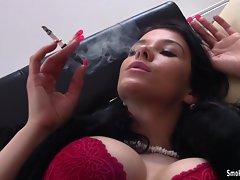 Smoking compilation hot and sexy
