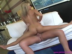 Courtney Simpson gets dicked up her dripping clunge