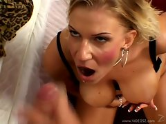 Gorgeous Xana Star gets drenched in hot jizz