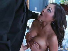 Blistering Priya Rai gives this dick a titty fuck