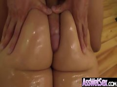 Juicy Oiled Ass Girl Get Hard Anal Bang movie-17