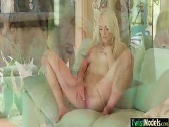 Hot Sexy Teen Babe Girl Masturbating On Cam movie-36