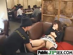 Asian Babe Girl Get Sex Bang In Public movie-22