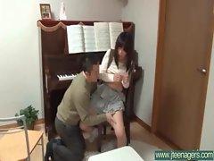 Japanese Teen Get Hardcore Sex movie-19