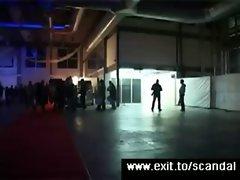Extreme public sex Sensation on stage
