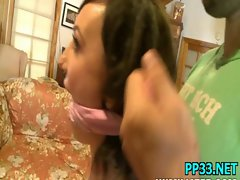 Little slut girl gets a big fuckin&#039_ mouthful