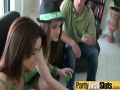 At Party Slut Teen Girl Get Hard Nailed movie-27