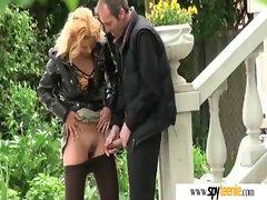 Slut Girl Get Fucked By Voyeur On Cam movie-20