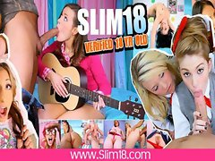 Art Studio Bang for Teen Slut Ivana Sugar - Slim18.com