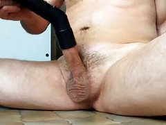 Blow job with my vacuum cleaner
