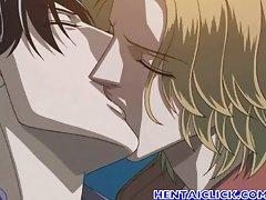 Hentai gay couple hardcore anal sex