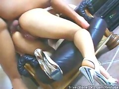 Raven fucked in her ass