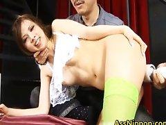 Haruki Kano hot Asian babe