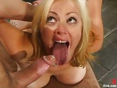 Grab that blonde's ass and fuck it