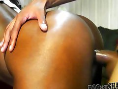 Amateur black couple fuck hard