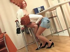 Seducing her niece&amp,#039,s friend
