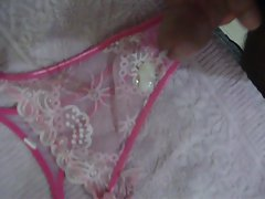 Masturbation in panties