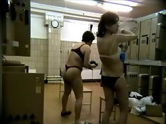A hidden camara in the women&amp,#039,s locker room,