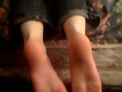 Friends cute feet 2