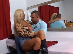 Dutch very hot blonde MILF