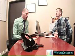 Cole getting ceduced by his boss By WorkingCock part5