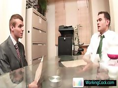 Johnatan making a BIG impression at job interview By Workingcock part1