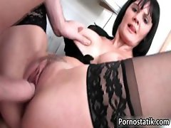 Horny milf Paige gets her pussy part5