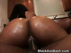 Big Booty Black Sluts Riding Cock In Threesome