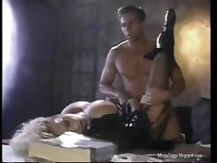 Peter North gets a busty blonde hooker over for some head and drilling