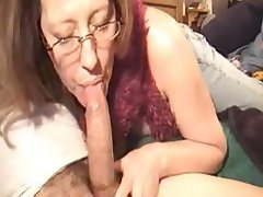 Hot Mature Gives A Blowjob