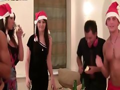 Teens looking to get kinky at xmas party