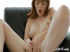 Art of masturbation in white