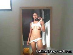 Busty adorable latina nude phone pics part4