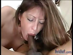 Liza choked on this cock