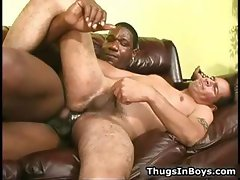 Latin dude gets his face all jizzed part1