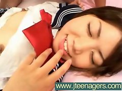 Wild Grinding A Sensual japanese Luscious teens Cutie vid-25