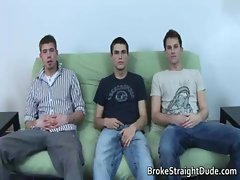 Straight Braden, Shane, &amp_ Sean dirty gay sex