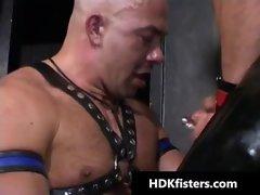 Deep gay butt fisting dirty porn gay sex