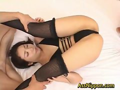 Hatsumi Kudo Filthy Asian Chick Delights Some