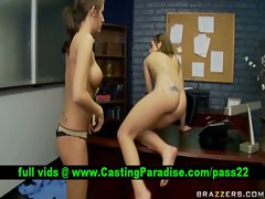 Lexi Mikayla lovely lezzies using strapon