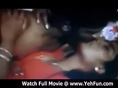 newly wedded couple shagging in a tamil movie