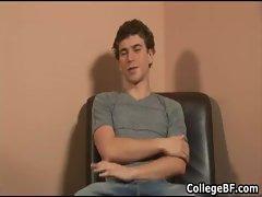 Alexander Green jerking his good college gay porno
