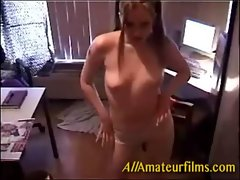 Student having fun with cam