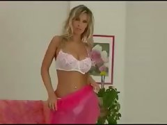 Blondie Czech Lass monica teases you