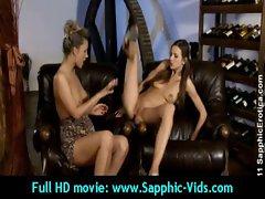 Sensual 19yo Lesbo Slutty chicks Luxuriate Oral Sex - Sapphic Erotica 14
