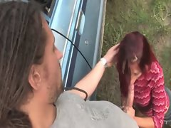 Sensual natural aussie redhead gets banged