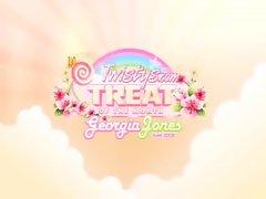 youporn-Georgia Jones Teases Her Shaven Twat