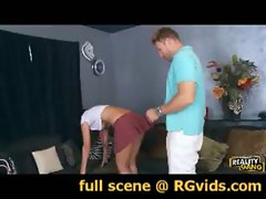 Attractive latina raunchy teen Dillion Harper banged brutal